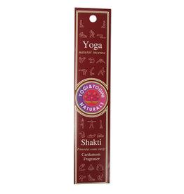 Yoga wierook shakti (kardemom) | 10 stokjes