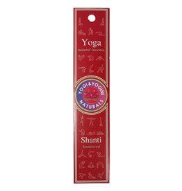 Yoga wierook shanti (sandelhout) | 10 stokjes