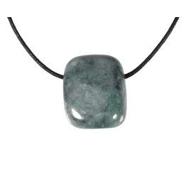 Jade (jadeiet) hanger doorboord
