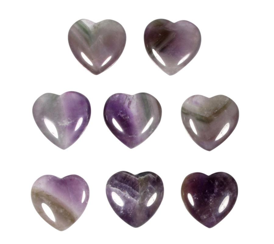 Amegreen edelsteen hart 3 cm