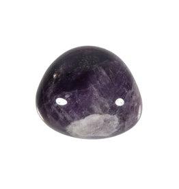 Amethistkwarts steen getrommeld 20 - 30 gram