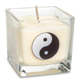 Geurkaars koolzaadwas yin yang