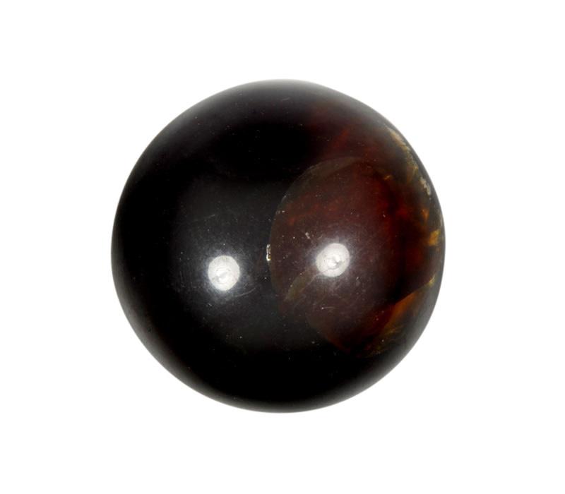 Barnsteen edelsteen bol 43 - 44 mm