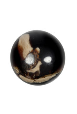 Barnsteen edelsteen bol 52 - 54 mm