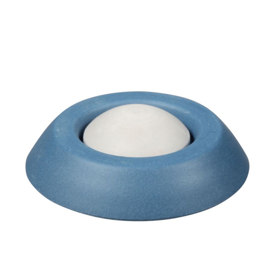 Aromasteentje met onderzetter (blauw)