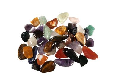 Stenenmix en verzameldoosjes