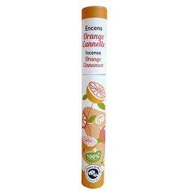 Plant wierook sinaasappel & kaneel | 30 kleine stokjes