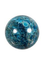 Apatiet edelsteen bol 85 mm | 1014 gram