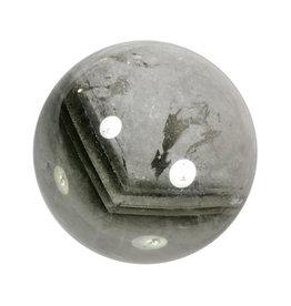 Fantoomkwarts edelsteen bol 78 mm | 665 gram