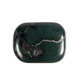 Magnetiet in jade steen plat gepolijst