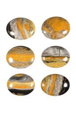Bumble bee jaspis steen plat gepolijst