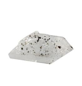 Anataas kristallen op bergkristal 7 x 3,3 x 3,1 cm | 93 gram