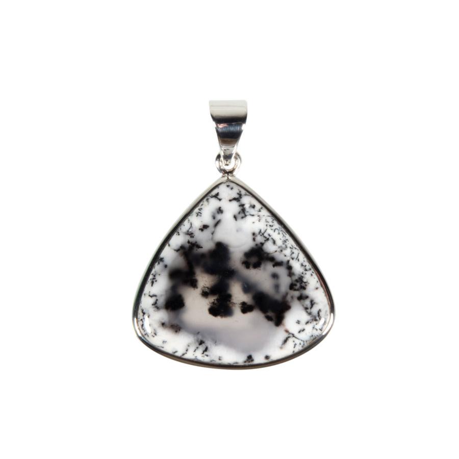 Zilveren hanger merliniet   druppel 2,8 x 2,9 cm