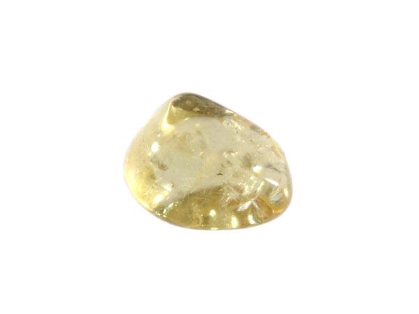 Apatiet (geel/groen) steen getrommeld 1 - 2 gram