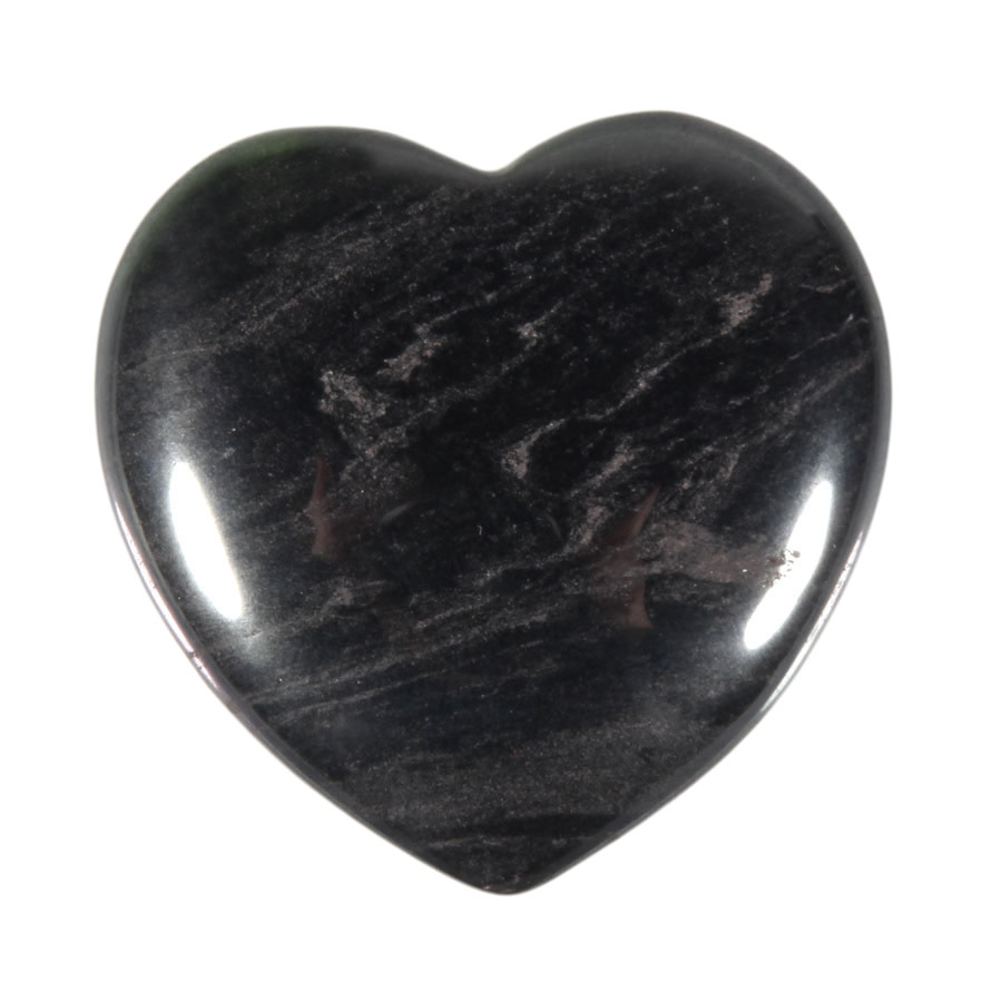 Hematiet edelsteen hart 4 cm