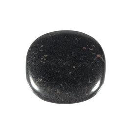 Hematiet steen plat gepolijst