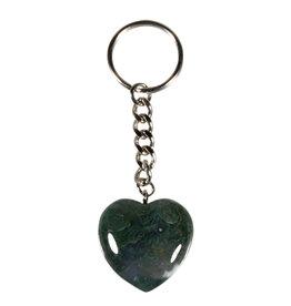 Mosagaat sleutelhanger hart