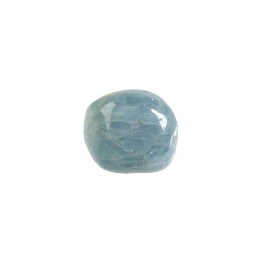 Aquamarijn (blauw) steen getrommeld 2 - 5 gram