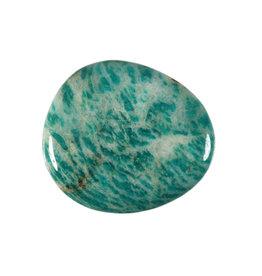 Amazoniet (Russisch) steen plat gepolijst