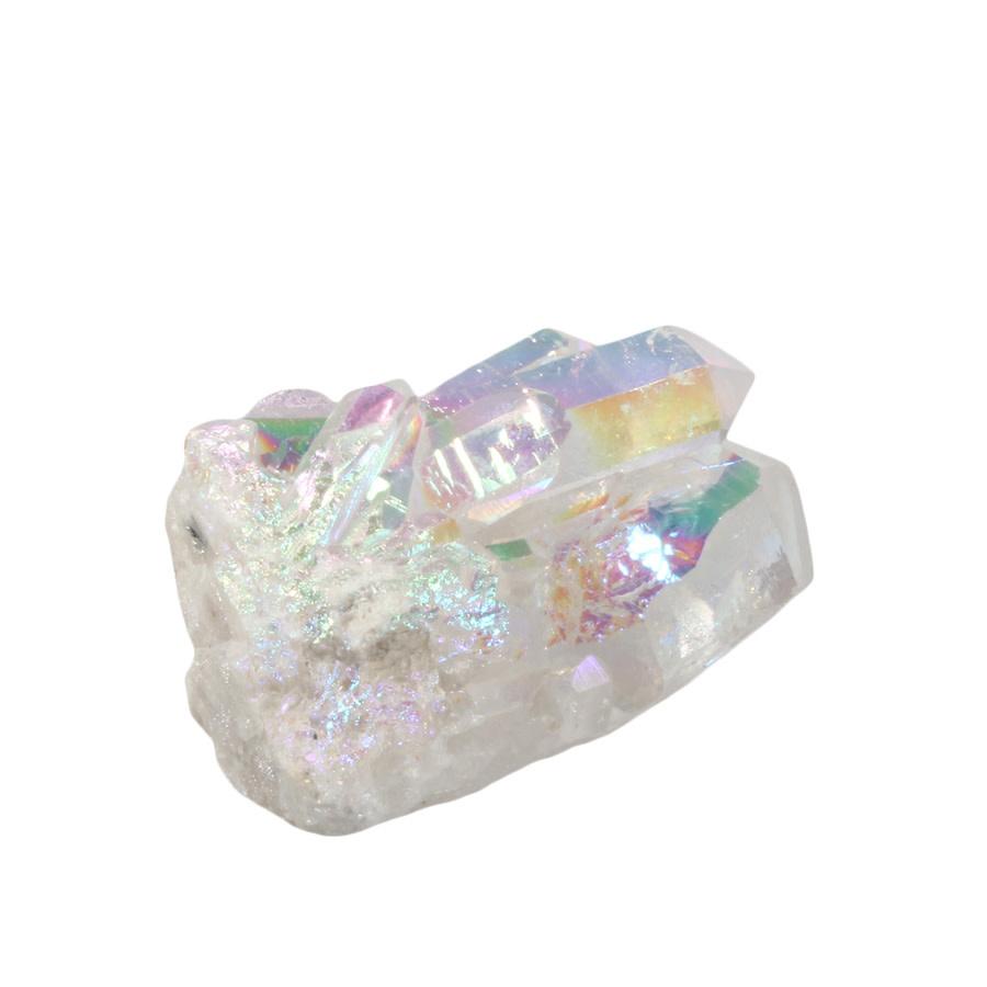 Angel aura kwarts cluster 6,3 x 3,5 x 2,9 cm | 86 gram