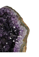 Amethist cluster 26 x 15 x 10 cm / 3418 gram | met standaard