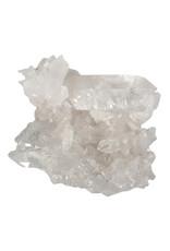 Bergkristal (Arkansas) cluster 10,5 x 9,5 x 4,5 cm | 393 gram
