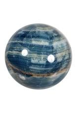 Aragoniet (blauw) edelsteen bol 102 mm   1443 gram