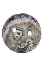 Amethist cluster edelsteen bol 105 mm | 1333 gram
