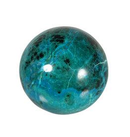Chrysocolla edelsteen bol 64 mm   393 gram