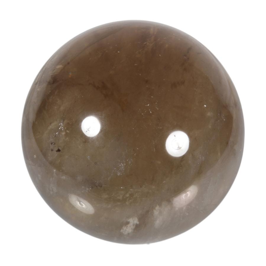Citrien met rookkwarts (smokey citrien) edelsteen bol 84 mm | 831 gram