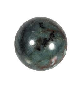 Smaragd edelsteen bol 54 mm | 221 gram