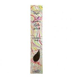 Wierook Citronella rust | 24 lange stokjes | De Moeder's geuren