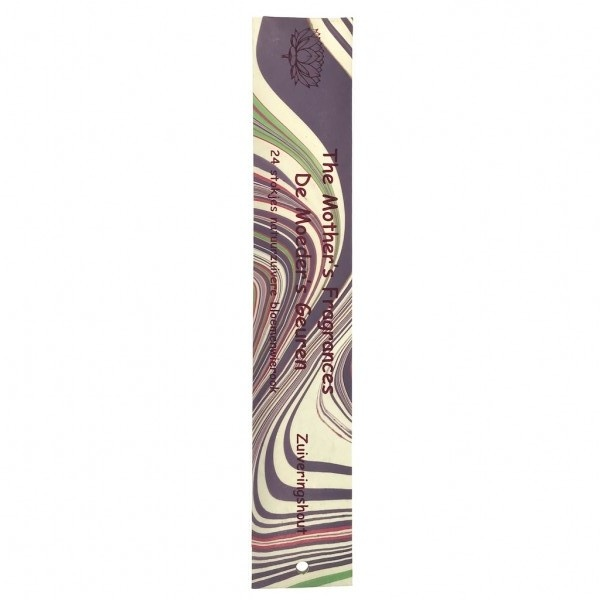 Wierook Zuiveringshout (Sambrani)   24 lange stokjes   De Moeder's geuren