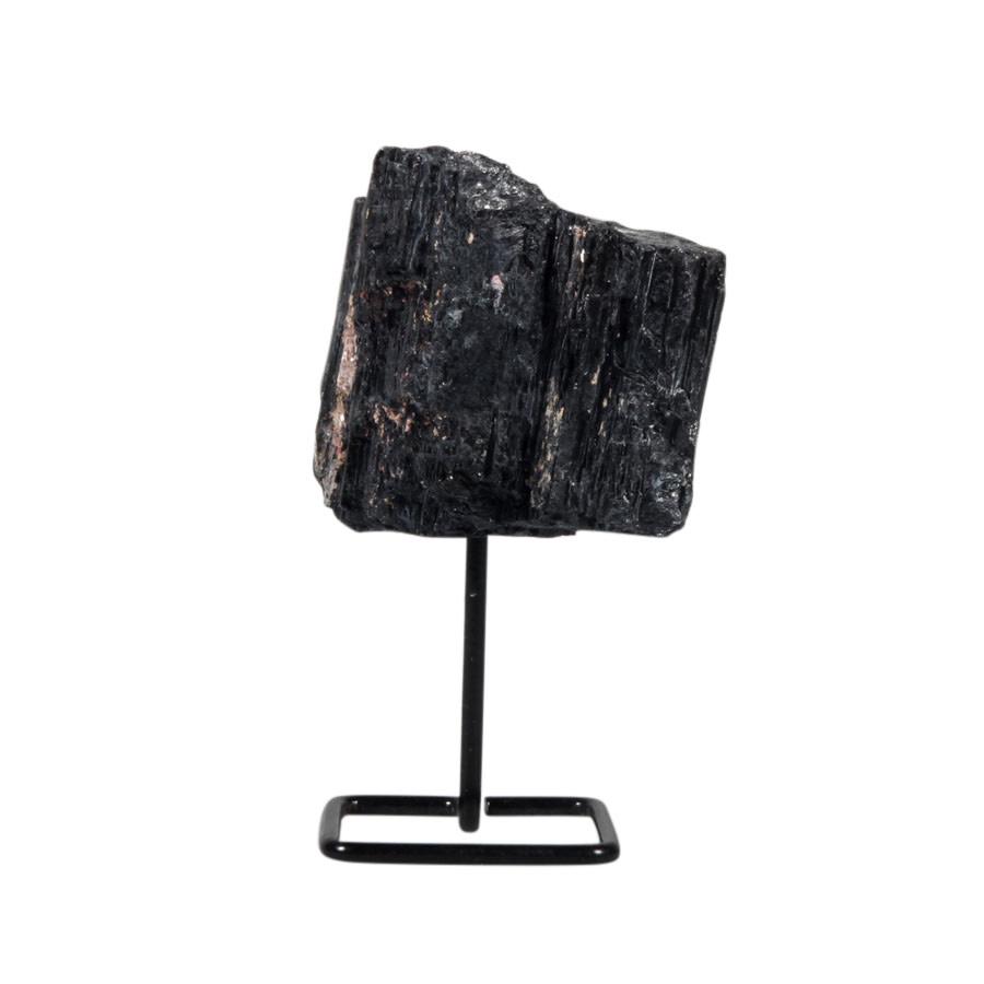 Toermalijn (zwart) ruw op standaard klein