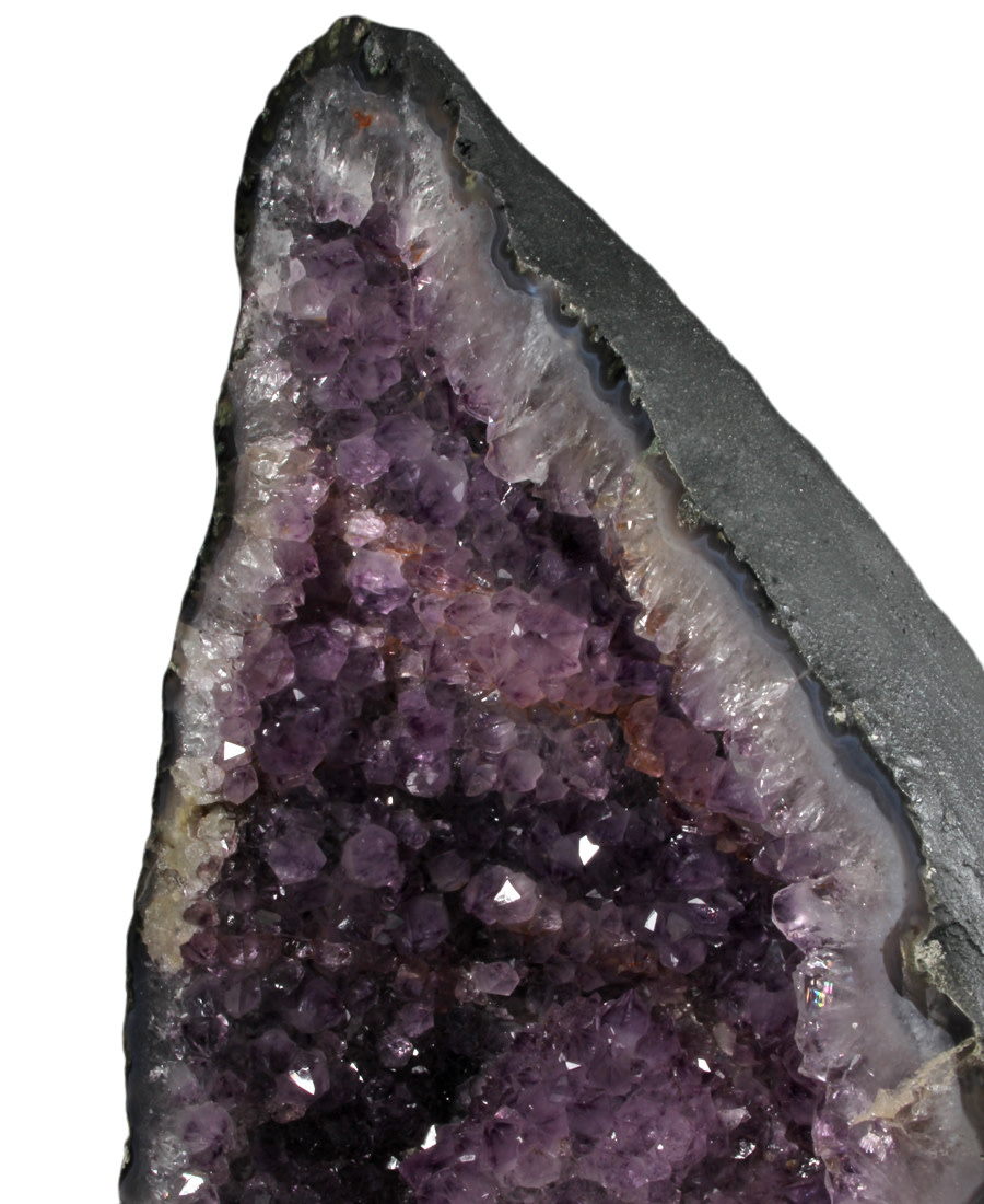 Amethist geode 27,5 x 17 x 39 cm | 19,14 kg