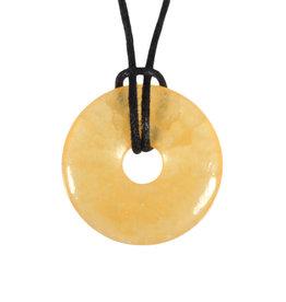 Calciet (oranje) hanger donut 3 cm