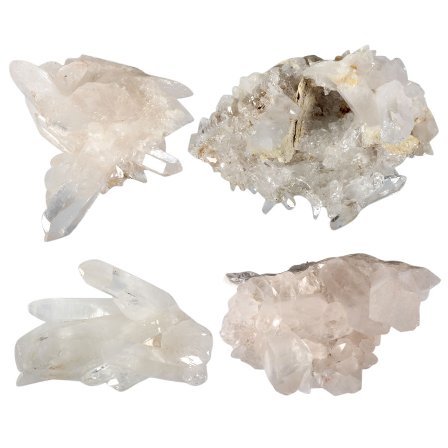 Bergkristal (Himalaya) cluster 175 - 250 gram