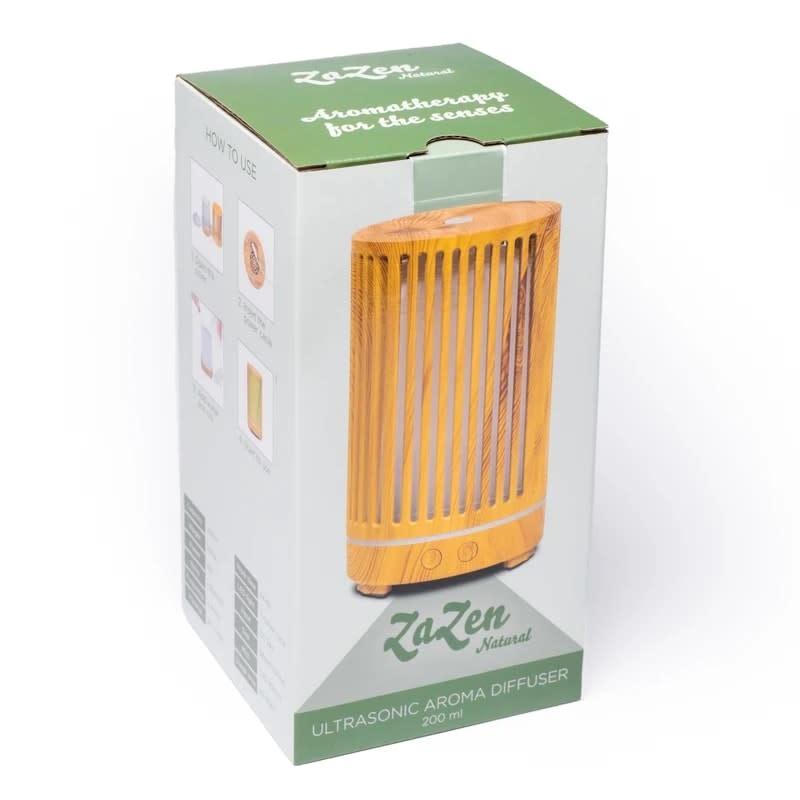 Aromaverstuiver ultrasoon ZaZen (200 ml) lichtbruin