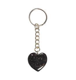 Nuummiet sleutelhanger hart