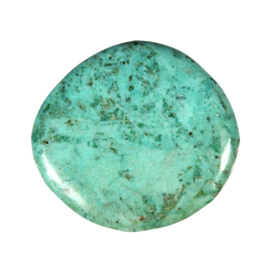 Chrysocolla met turkoois steen plat gepolijst