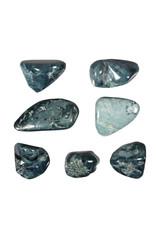 Jade (blauw) steen getrommeld 5 - 10 gram
