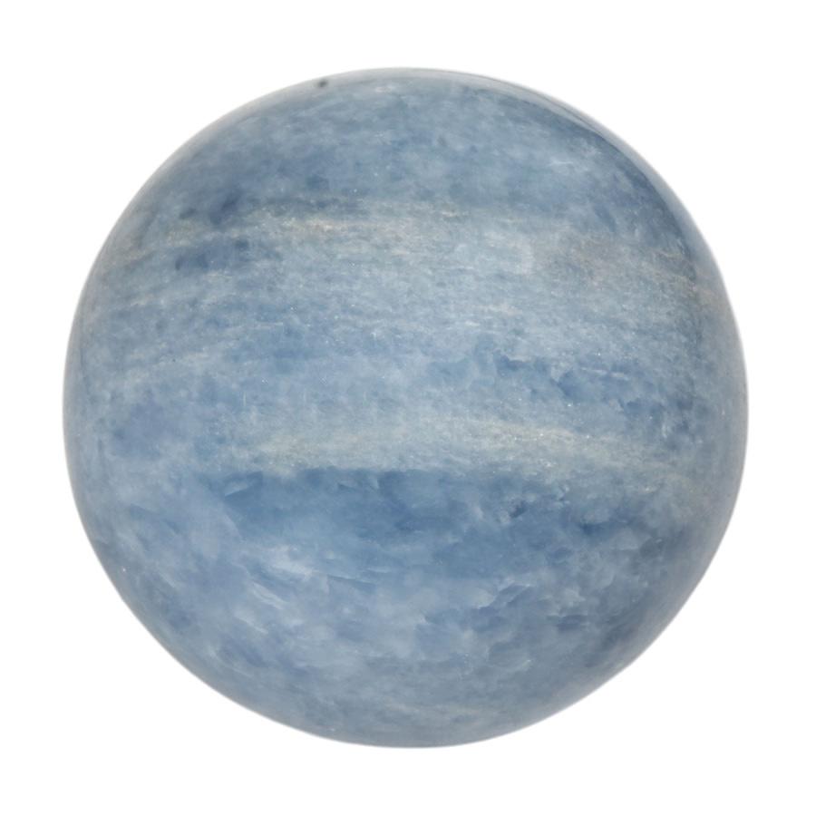 Calciet (blauw) edelsteen bol 86 mm   929 gram
