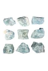 Aquamarijn (blauw) ruw 25 - 50 gram
