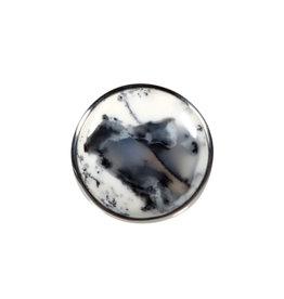 Zilveren ring merliniet maat 18 | rond 2,3 cm
