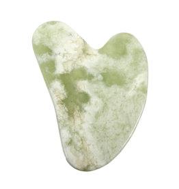 Gua sha massage steen new jade (serpentijn)