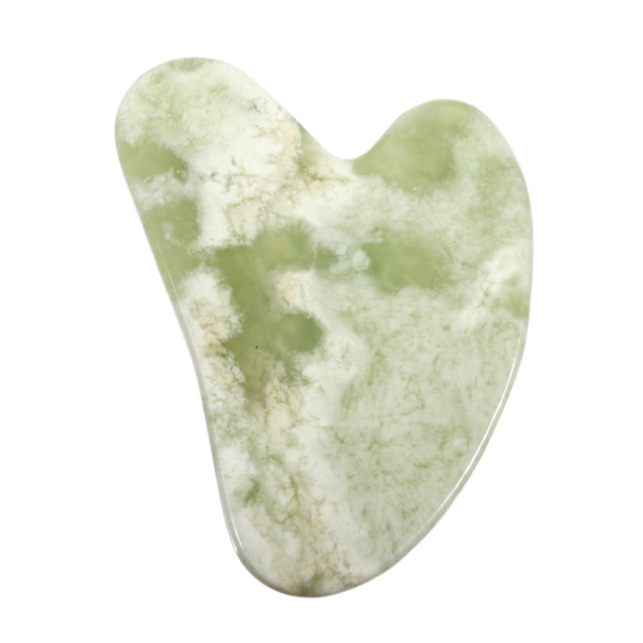 Gua sha massagesteen new jade (serpentijn)