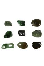 Jade steen getrommeld 5 - 10 gram
