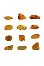 Barnsteen gepolijst 0,2 - 0,5 gram