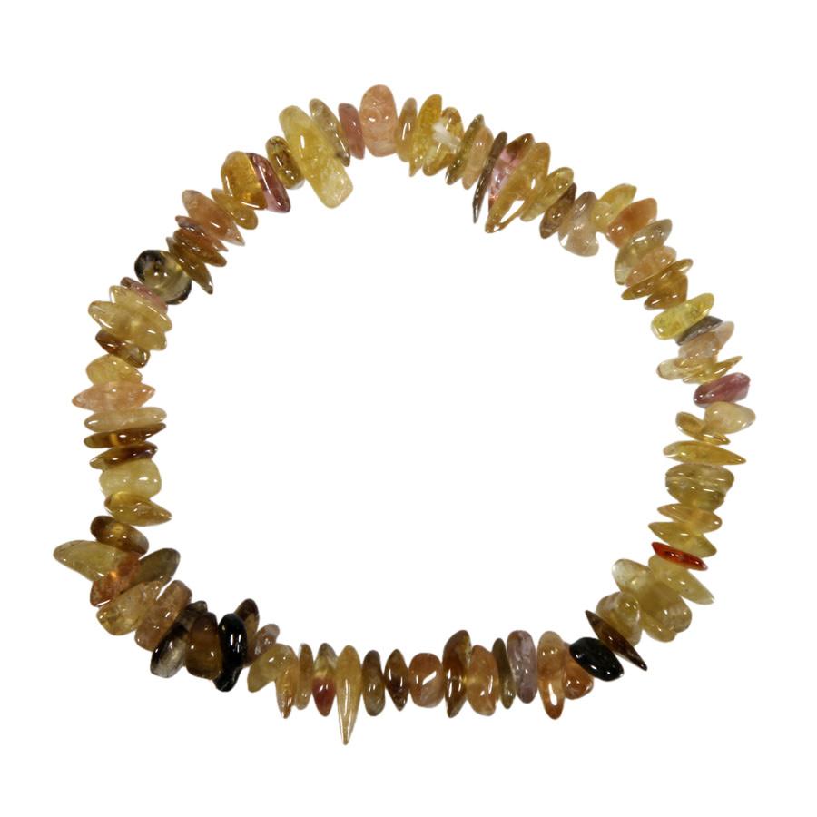 Toermalijn (geel) armband split