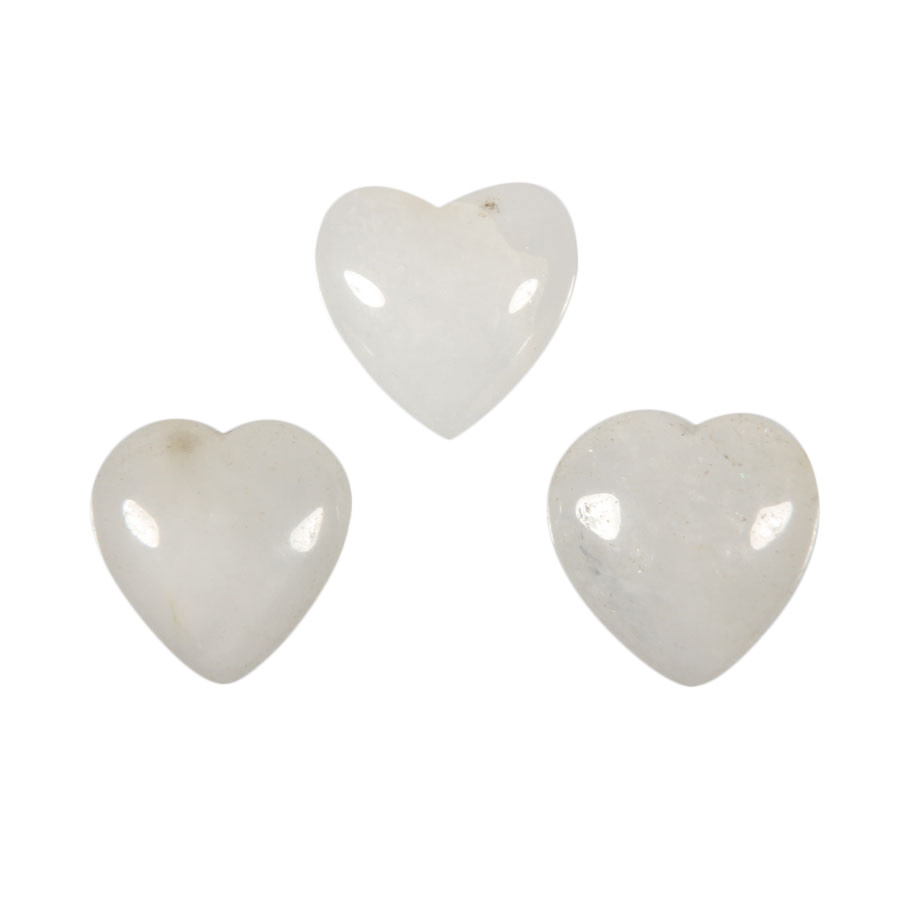 Azeztuliet edelsteen hart 15 mm
